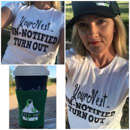 Rodeo Season is here I am excited to launch my rodeo t-shirt collection first out of the chute for #Summer2018 is Your Next ... UnNotified Turn Out